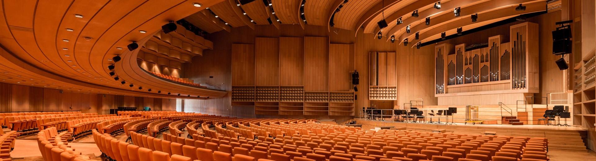 Brucknerhaus Linz - The Main Hall © Reinhard Winkler