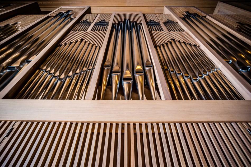 Neue Brucknerhaus-Orgel © Rita Newman