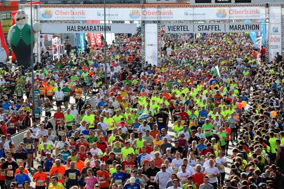 Linz Donau Marathon © Klaus Mitterhauser