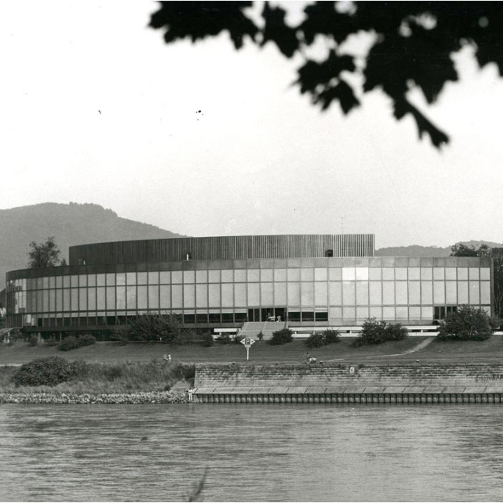 Brucknerhaus Linz (1974) © Burgi Eder