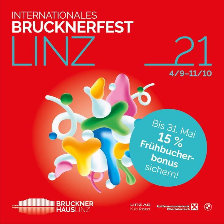 Brucknerfest Frühbucherbonus 2021