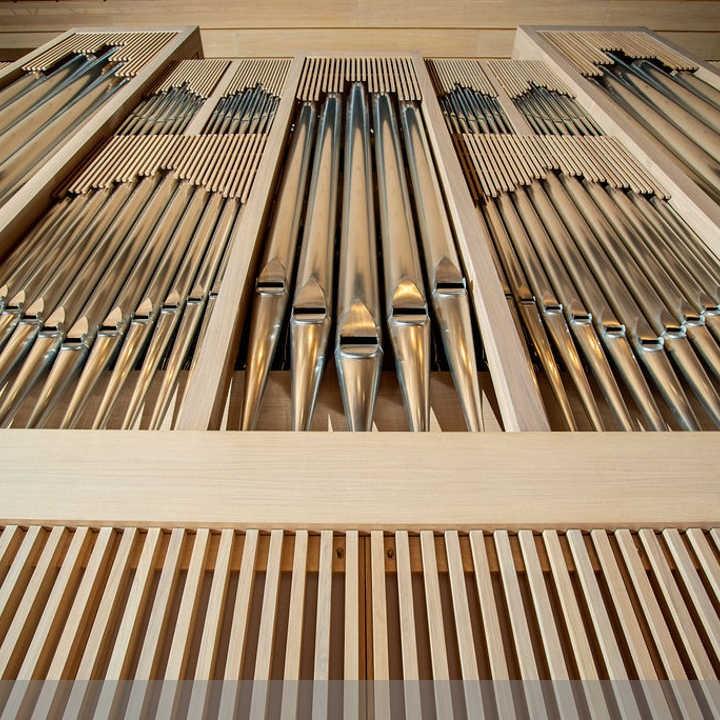 Die neue Brucknerhaus-Orgel © Rita Newman