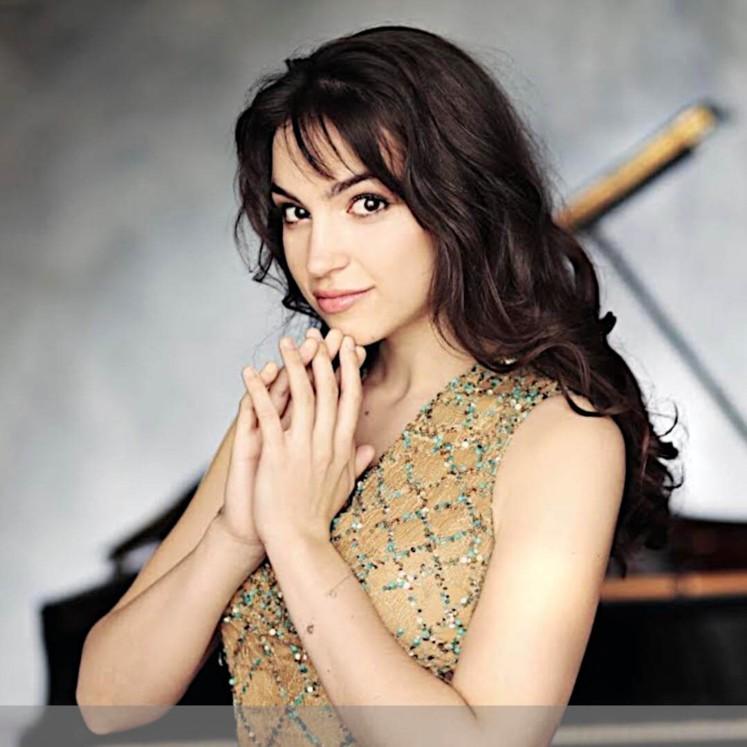 Olga Scheps © Uwe Arens/Sony Classical