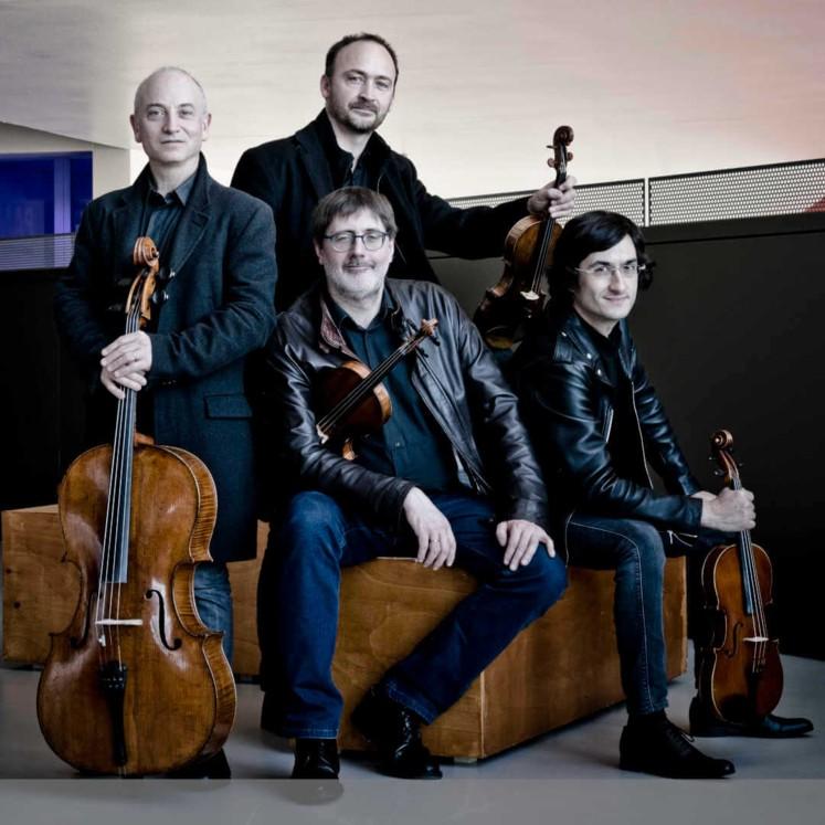 Quatuor Danel © Marco Borggreve