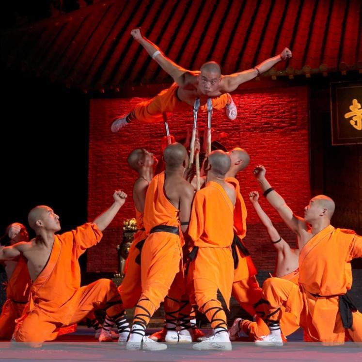 Die Mönche des Shaolin Kung Fu © Manfred Weihs