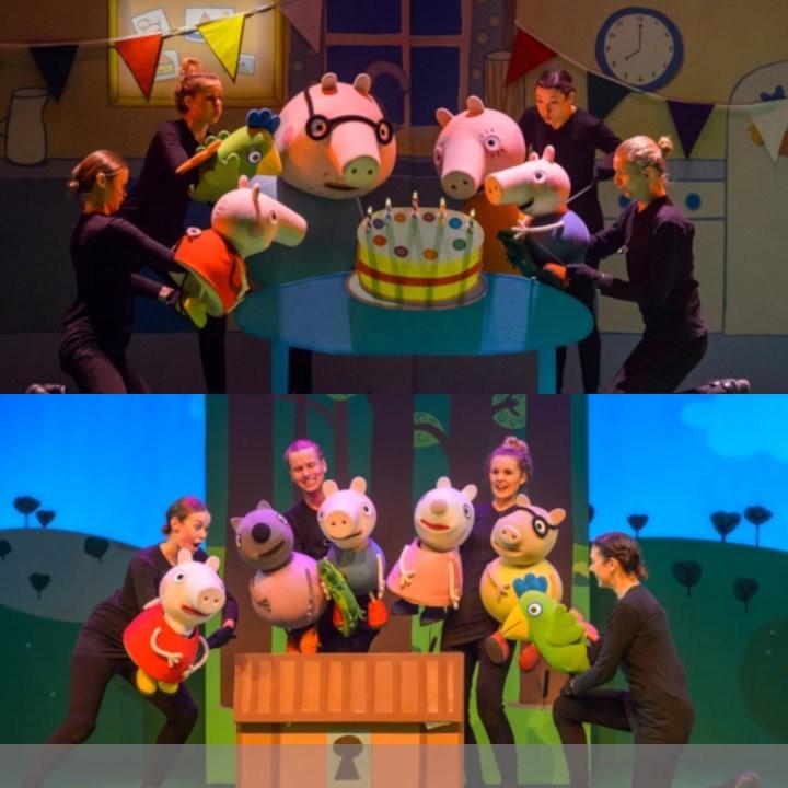 Peppa Pig Live © Theater auf Tour/Fotograf Wim Lanser
