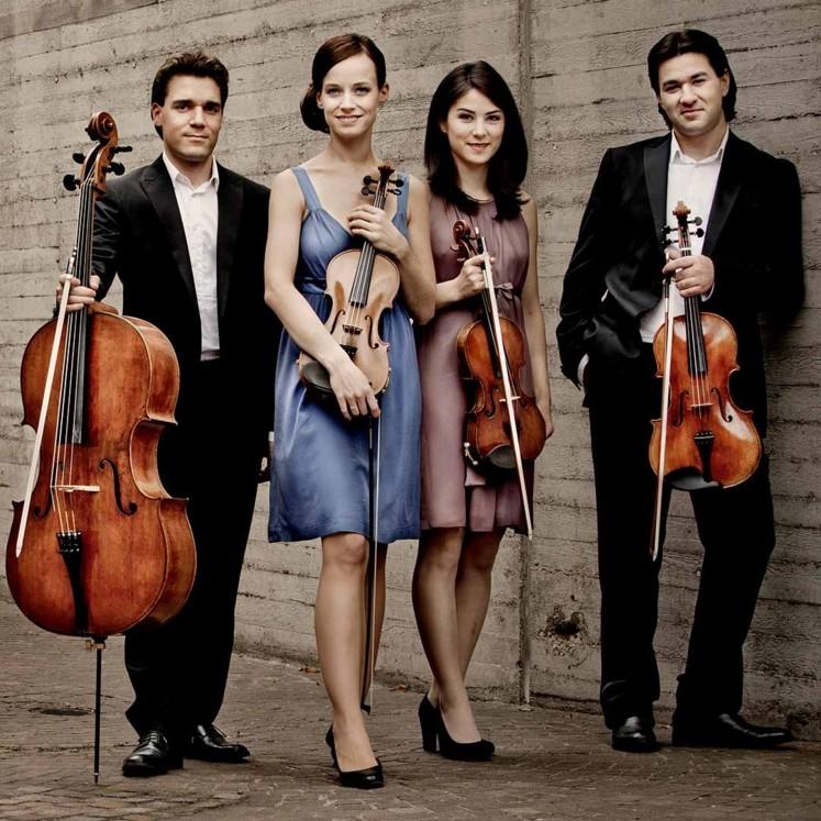Minetti Quartett © Irène Zandel
