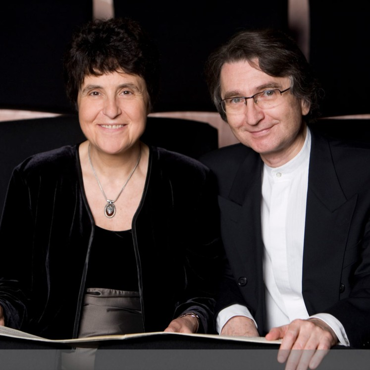 Klavierduo Koroliov & Chadschi © Barbara Frommann
