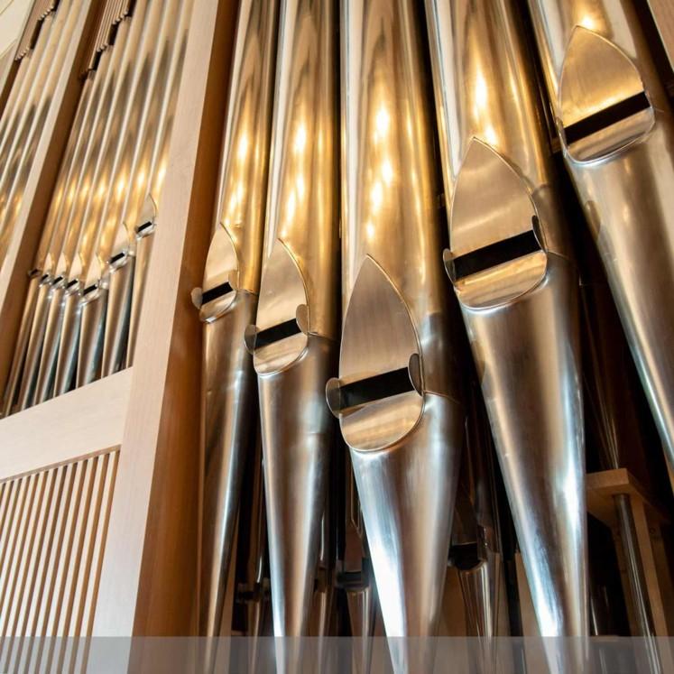 Orgel Brucknerhaus © Rita Newman