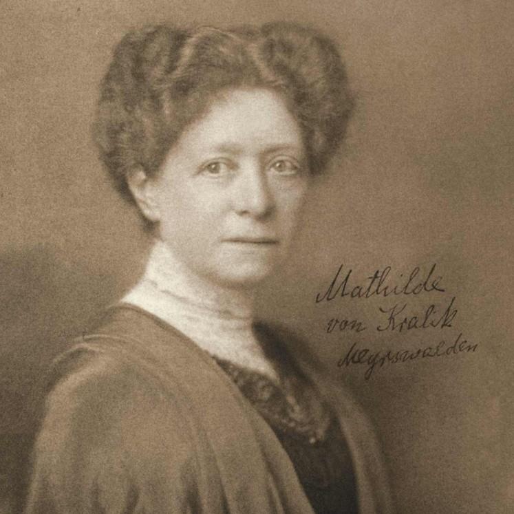 Mathilde Kralik von Meyrswalden  © H.C.Kosel Wien-Österreichische Nationalbibliothek
