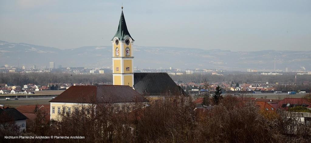 Kirchturm Pfarrkirche Ansfelden © Pfarrkirche Ansfelden