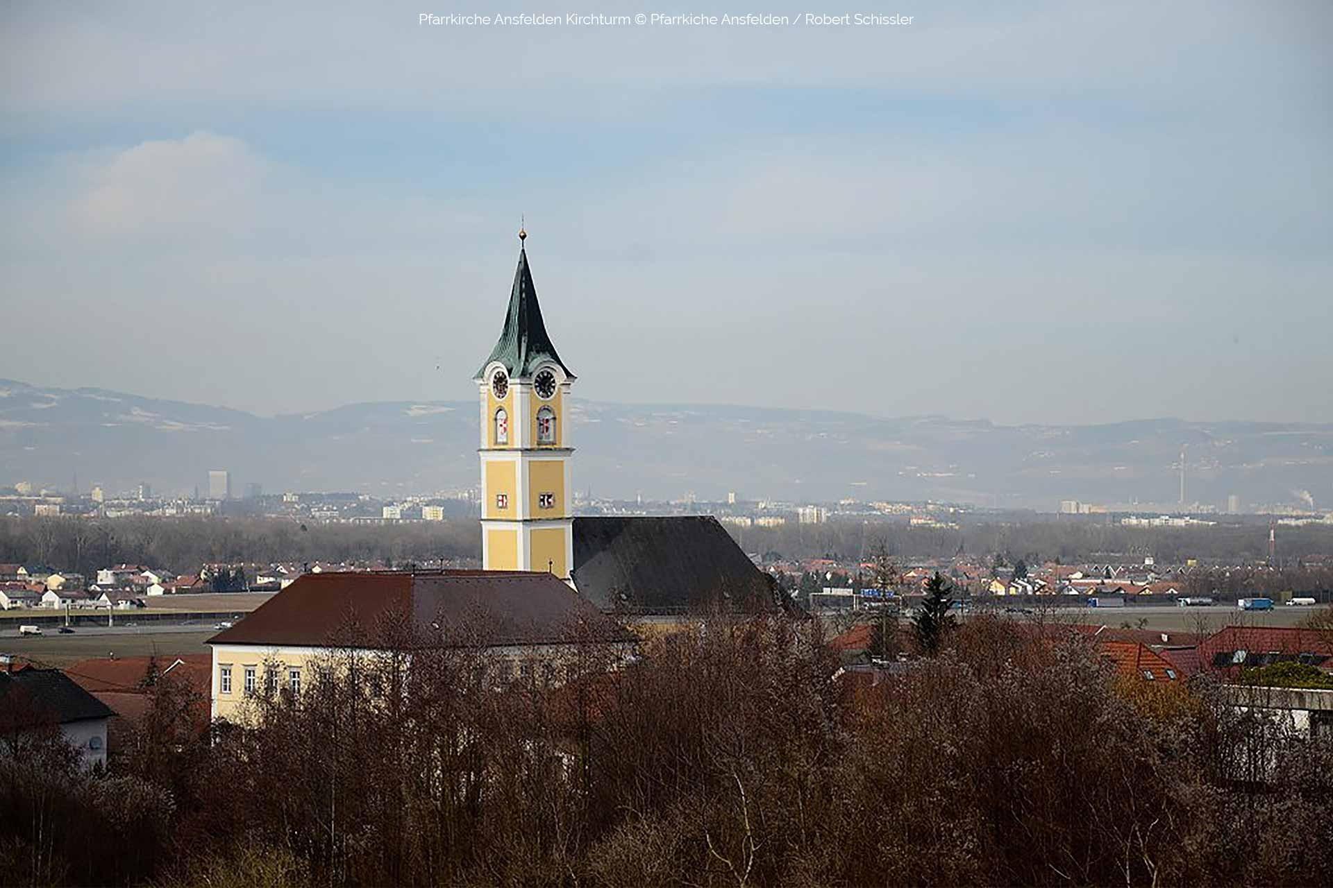 Pfarrkirche Ansfelden © Pfarrkirche Ansfelden / Robert Schissler