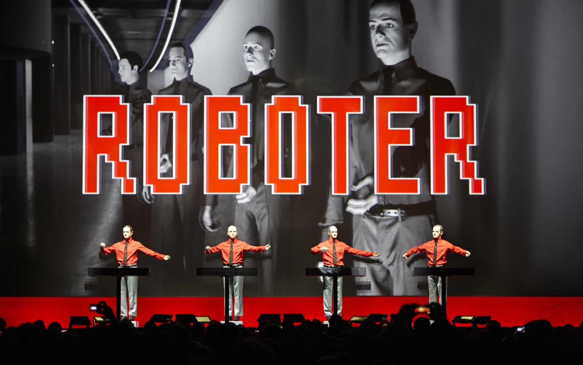 Kraftwerk – Roboter © Peter Boettcher