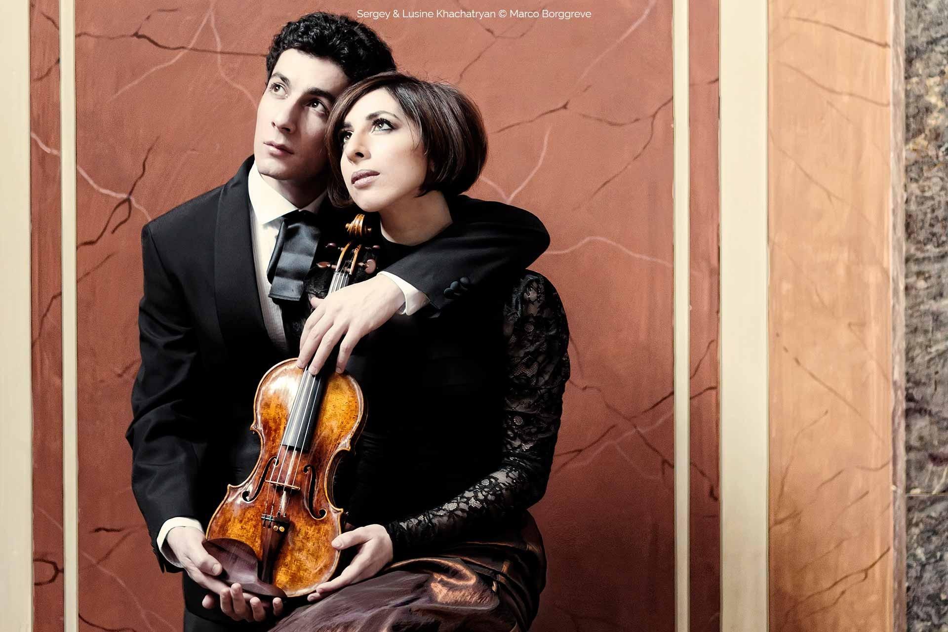 Sergey  &Lusine Khachatryan © Marco Borggreve
