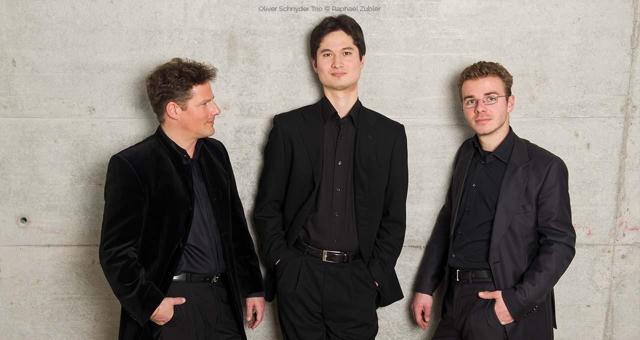 Oliver Schnyder Trio © Raphael Zubler